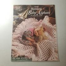 Crochet Heirloom Baby Afghans - 5 designs - American School of Needlework - $7.98