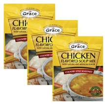 Chicken Soup mix by Grace. 2.12 oz Pack of 3 Free Shipping - $10.49