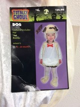 Dog Puppy Costume For Baby Toddler 12-24 Mos Totally Ghoul Cute NWT - $24.74