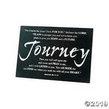 Journey Tabletop Graduation Plaque - $17.86