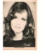 Pamela Sue Martin Burt Reynolds teen magazine pinup clipping Modern Screen - $3.50