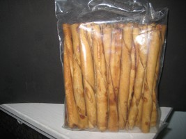 "30 pack 5"" chicken flavored rawhide twist sticks - $7.84"