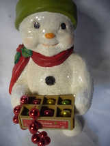 Bethany Lowe Deck the Halls Snowman no. TD 9080 image 5