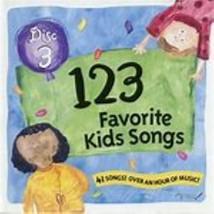 123 Favorite Kids Songs Disc 3 Cd image 1