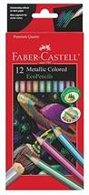 Faber Castell Metallic Colored Ecopencils - 12 Break Resistant Coloring Pencils - $7.91