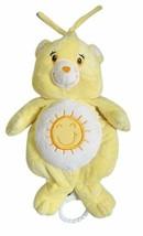"Care Bears Baby Tug Lullaby Plush 12"" Sunshine Bear 2003 - $24.18"