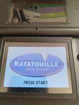 Nintendo Game Boy Advance GBA Disney*Pixar Ratatouille image 1