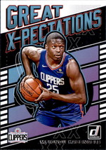 Mfiondu Kabengele 2019-20 Donruss Great X-Pectations Card #24 - $1.50