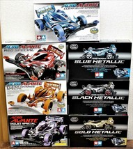 TAMIYA AERO AVANTE Limited Color Set of 7 Clear Blue, Red, Clear Orange ... - $215.32