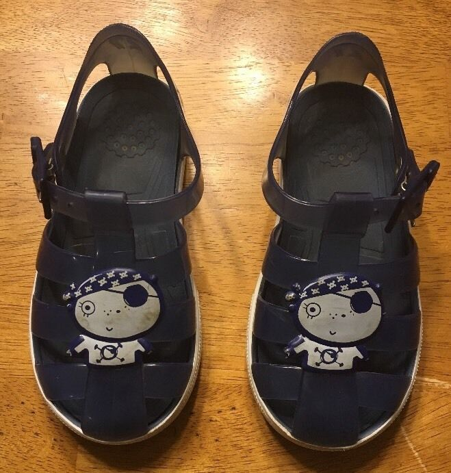247621e6cac6c4 Igor Boy s Blue Tennis Jelly Sandals - Size and 50 similar items. 57