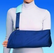 Sling Arm Cotton/Polyester Universal No Pad Blue Part# 79-84300 by DJO