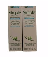 Simple Water Boost-Set of 2-Hydrating Booster Dry Sensitive Skin 0.85 fl... - $6.76