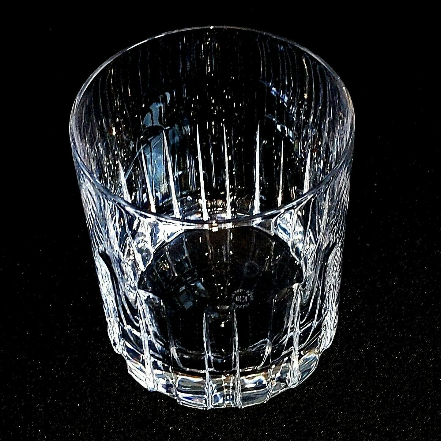 6 (Six) ROYAL CRYSTAL ROCK-RCR TIMELESS Cut Crystal Double Old Fashioned Glasses image 4