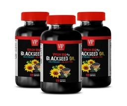liver support factors - BLACKSEED OIL - digestion detox 3BOTTLE - $56.06
