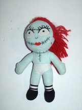 "Disney Nightmare Before Christmas Sally Stitches Plush Doll Toy 9"" Nude - $9.79"