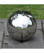 Stainless Steel Shiny Mirror Gazing Ball For Outdoor Home Garden Decorat... - $97.00