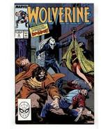 Wolverine #4-VF/NM-Marvel Comic Book-1989 - $18.92