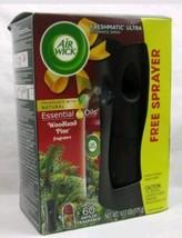 Air Wick Freshmatic Ultra Automatic Spray Essential Oils Woodland Pine F... - $8.99