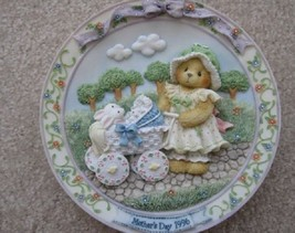 "Cherished Teddies ""Mother's Day""--(Dated 1996 Plate) - $15.83"