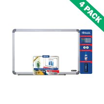 Erase Board, Framed Wall Mount 24 X 36 Magnetic Dry Erase Board Pack Set... - $242.49