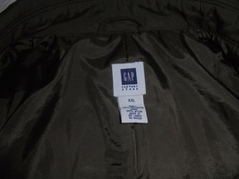 Men's Gap Factory Store Polyester/Nylon Button Jacket Size XXL - $38.75
