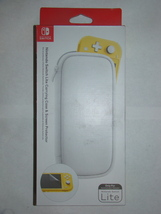 NINTENDO SWITCH Lite Carrying Case & Screen Protector (New) - $25.00