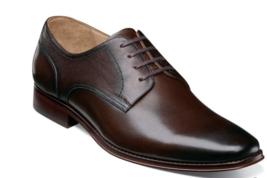 Florsheim Palermo Plain Toe Oxford Men's Shoes Brown Leather 12179-200 - $159.99