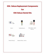 Emergency Dental Repair Kit Replacement Components for EDK First Aid Kits - $7.50+