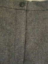Liz Claiborne Lizsport Gray Pleated Wool Lined Dress Pants Speckled NWOT... - $12.96