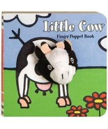 Chronicle Little Cow Finger Puppet Book - $18.00