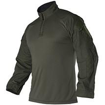 Vertx Men's 3XL Recon Combat Long Sleeves Shirt, Olive Drab Green - $104.99