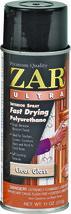 ZAR 32807 11 oz Clear Gloss Fast Drying Ultra Interior Polyurethane Spray