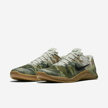 Nike Mens Metcon 4 Camo Print Running Shoes AH7453 300 - $127.33