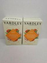 2 Pack Yardley Limited Edition Mandarin & Ginger Bath Bar Soap 4.25 oz  - $8.90