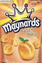 Maynards Fuzzy Peach 10 bags 355g each Canadian Made  - $79.99