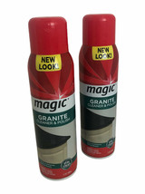 (2) Magic Granite Cleaner & Polish Aerosol 17 oz Discontinued - $33.00