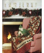 Thimbleberries Holiday Christmas Collection Quilt Runner Tree Skirt Patt... - $12.99