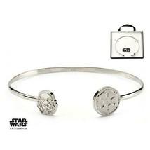 Disney Star Wars Stainless Steel Stormtrooper Cuff Bangle Bracelet - $32.20