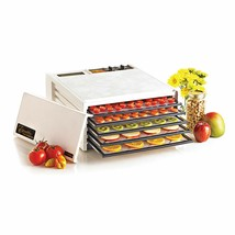 Excalibur 5-Tray Electric Food Dehydrator White - $84.14