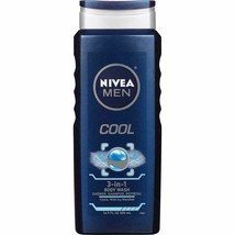 Nivea Men Cool 3-in-1 Bubble Bath with Icy Menthol, 500ml - $7.85