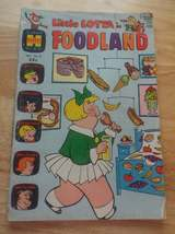 Vintage 1970's Little Lotta in Foodland #22 Harvey Giant Size Comic Book  - $12.99