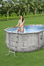 """Coleman Power Steel 16' x 10' x 48"""" Oval Above Ground Pool Set - Ready to Ship image 6"""