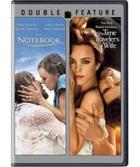 The Notebook/The Time Travelers Wife (DVD, 2014, 2-Disc Set) - $10.95