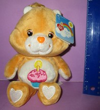 "Care Bears Birthday Bear Bean Bag 20th Anniversary Play Along 8"" w/ Tags... - $15.00"