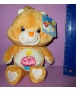 "Care Bears Birthday Bear Bean Bag 20th Anniversary Play Along 8"" w/ Tags... - $15.00"