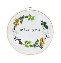 Handmade Embroidery DIY Kits Cloth Materials Cross Stitch Starter Kits, ... - $17.40