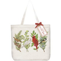 Eco Friendly Canvas Tote Bag By Mary Lake Thompson-Songbirds - $21.50