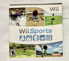 Wii Sports (Nintendo Wii, 2006) Game Complete - $29.69