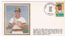 STEVE GARVEY RETURN TO LA EVENT COVER - $1.78
