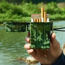 Cigarette Case Waterproof USB Lighter Recharge Cigarette lighter - $9.99